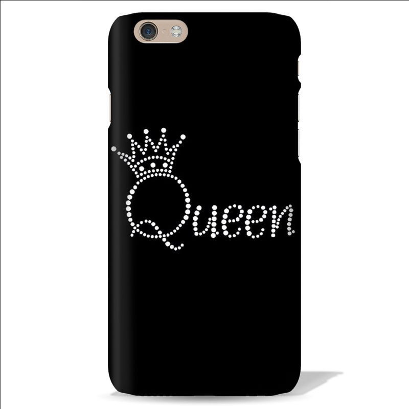 Buy Leo Power Beautiful Queen Crown Printed Case Cover For Apple iPhone 4 online