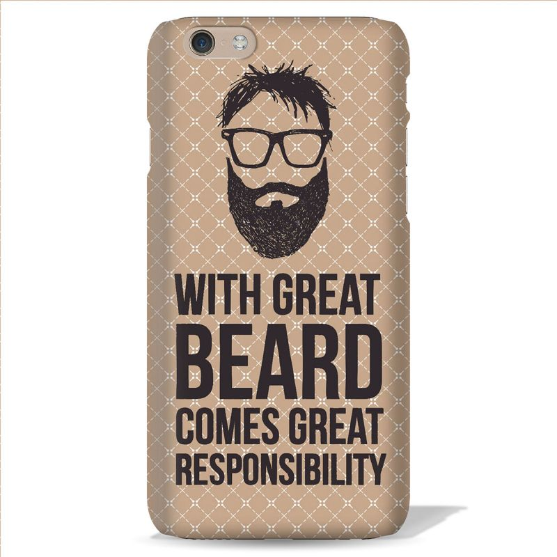 Buy Leo Power With Great Beard Printed Case Cover For Oneplus One online
