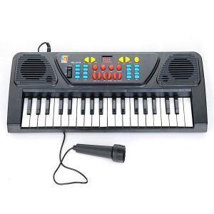 Buy Eci Kids Karoke Mic Keyboard 37keys Piano Karaoke Synthesizer Microphone online