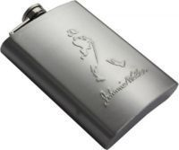 Buy Johnnie Walker 8oz Stainless Steel Liquor Wine Hip Flask Holder 235ml online