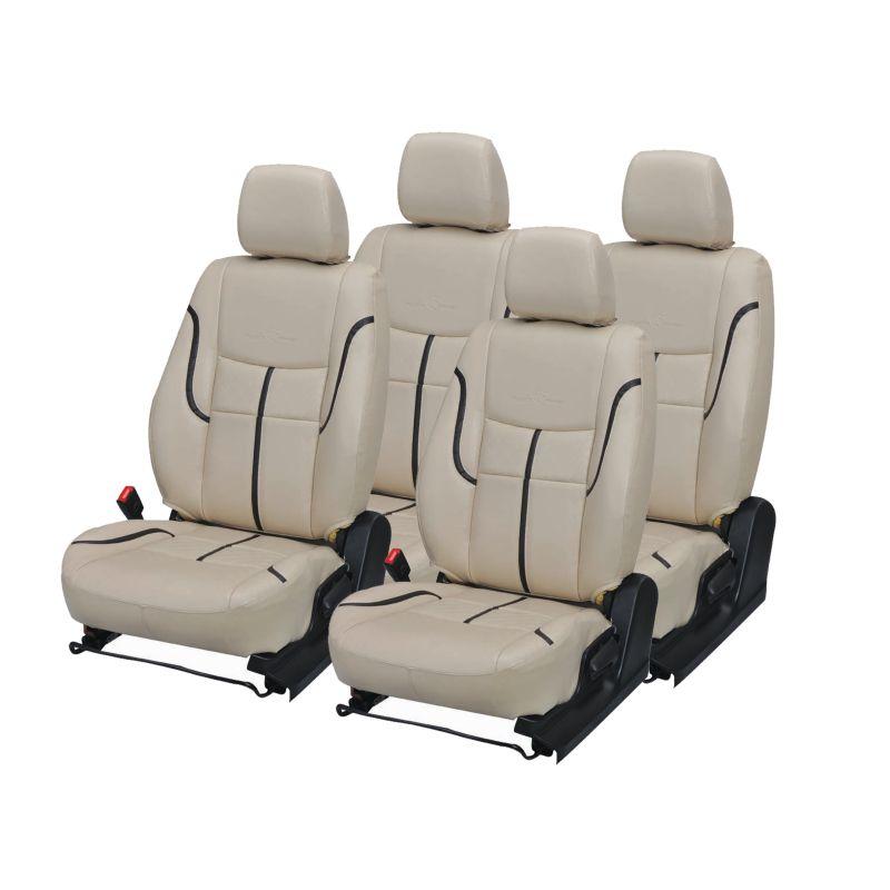 Buy Pegasus Premium Sunny Car Seat Cover - (code - Sunny_beige_black_prime) online