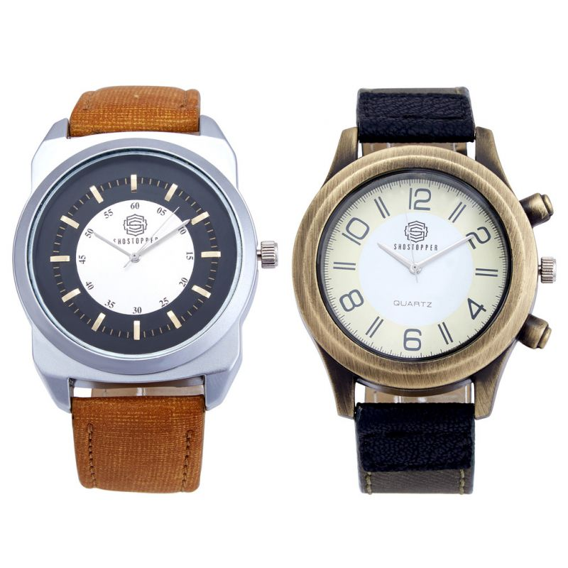 Buy Shostopper Vintage Collection Combo Watches For Mens online