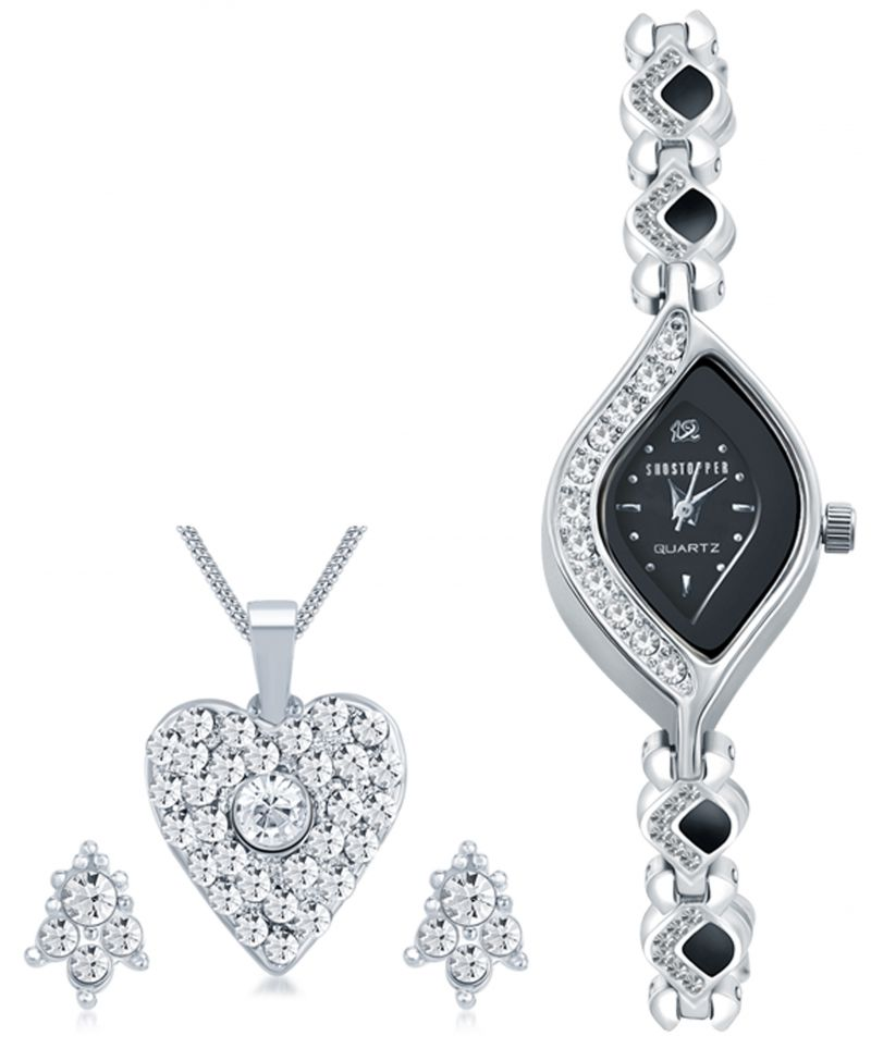 Buy Shostopper Vintage Collection Combo Of Pendant Set & Watch Sj238cb online