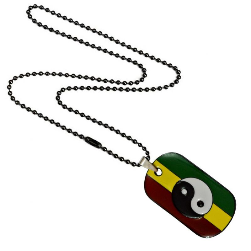 Buy Men Style Yin Yang Pendant Taoist Symbol of Balance Jewelry?? Multicolor Alloy Necklace Pendant online