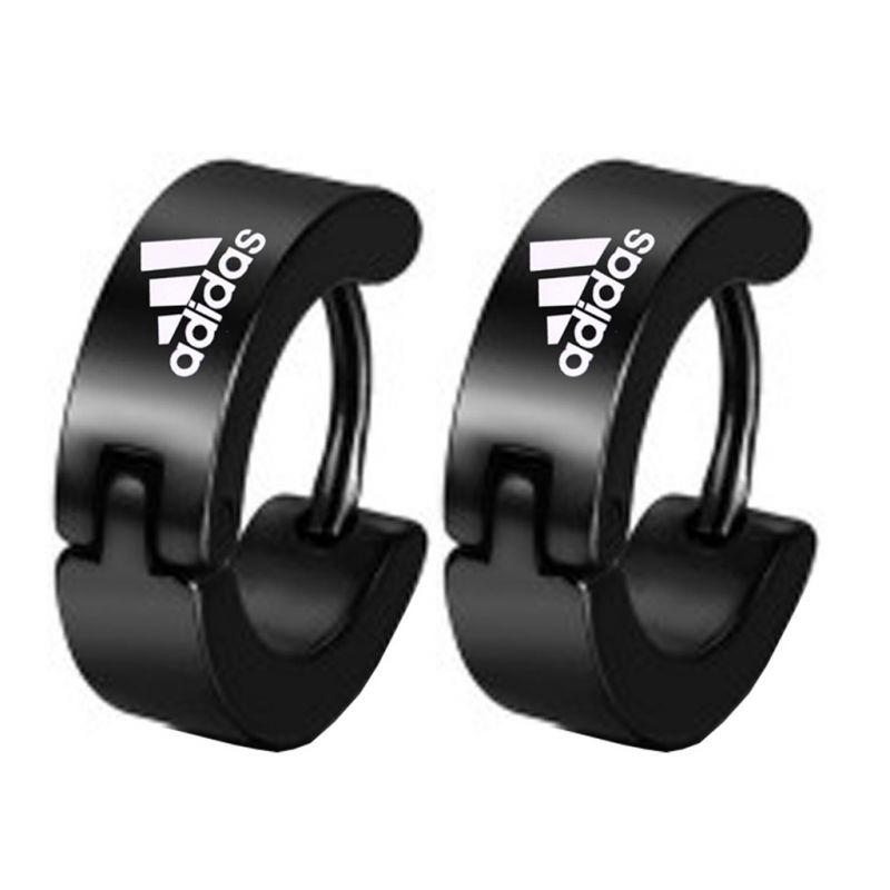 Buy Men Style Black Stylish Hoop Earring - Er12027 online