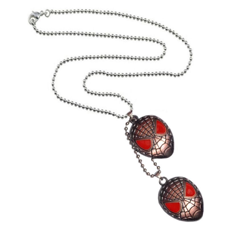 Buy Men Style Red Brown Sprider Man Pendent online