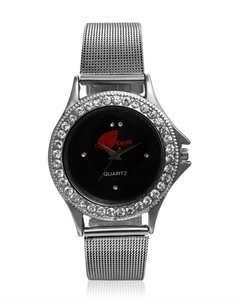 Buy Arum Analog Black Dial Women's Watch-aw-002 online