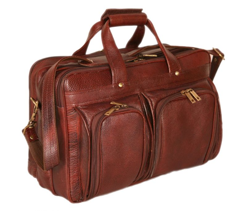 Buy Pe 16 Inch 100% Genuine Leather Laptop Messenger Bag online