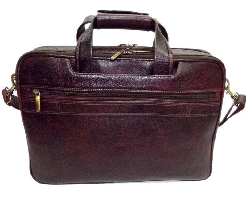 Buy Pe 16 Inch 100% Genuine Leather Laptop Messenger Bag online