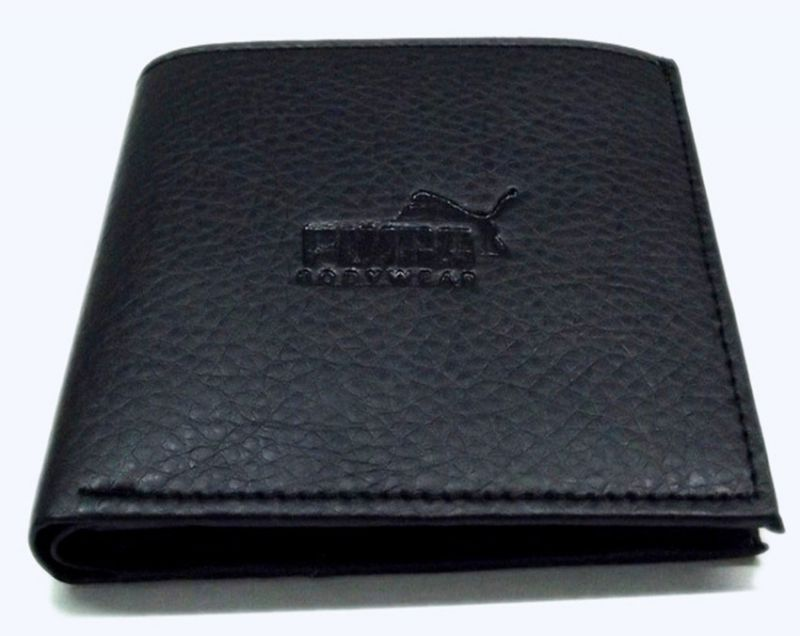 Buy PE Mens Fashionable Black PU Leather Wallet online