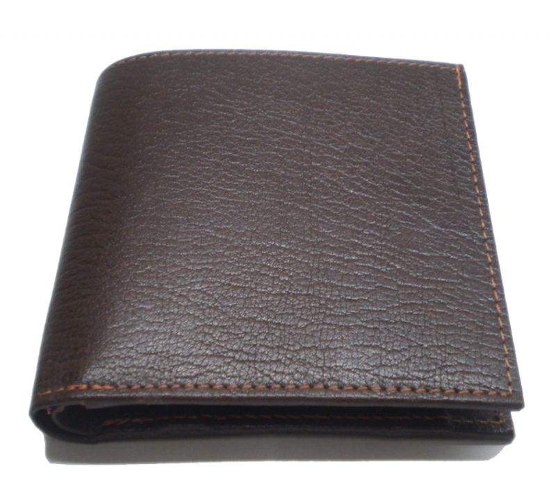 Buy Pe Mens Pure Brown Pondy Leather Wallet online