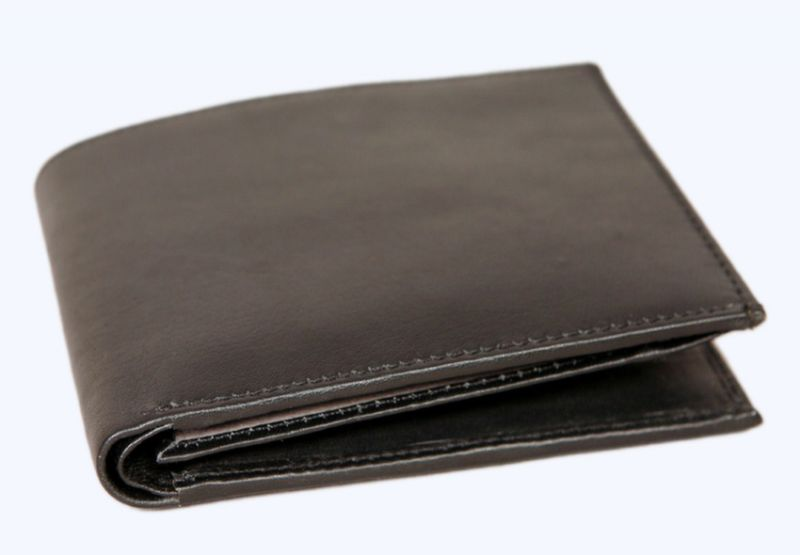 buy pe mens new style money purse black leather wallet online best
