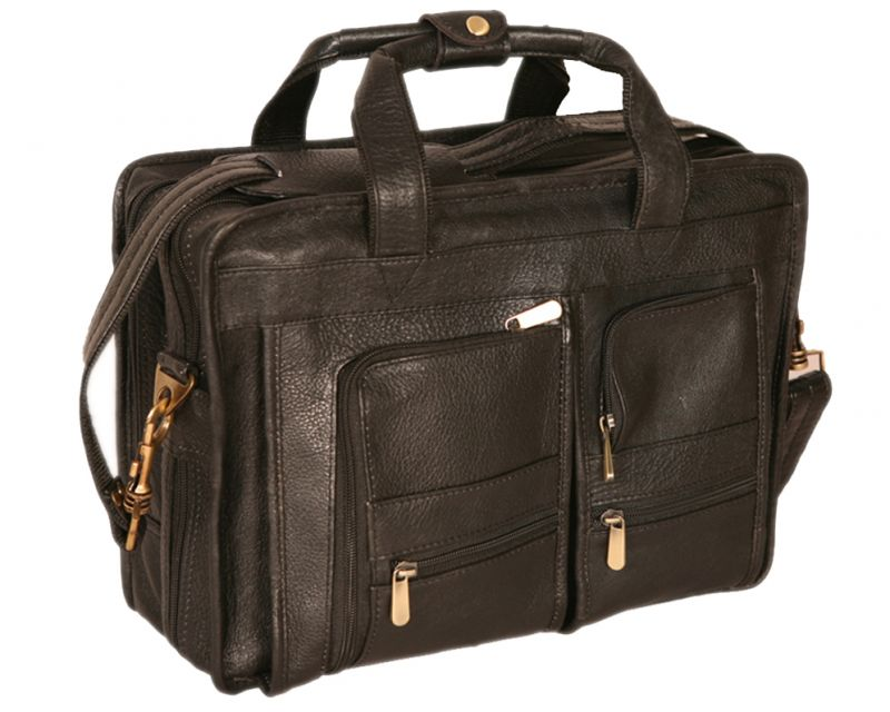 Buy Pe 12.5 Inch 100% Genuine Leather Laptop Messenger Bag online