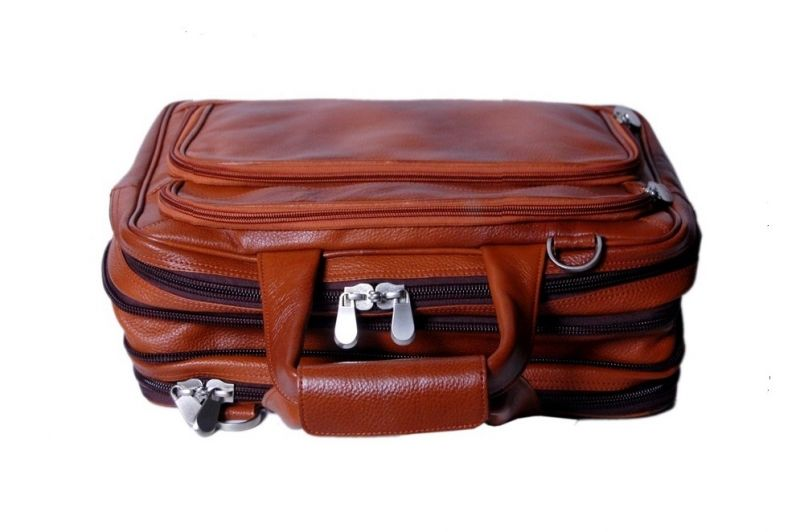 Buy Pooja Exports Genuine Leather Laptop Bag online