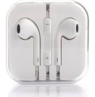 Buy Apple iPhone Handsfree With Remote And Mic (white) online