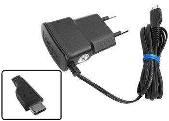 Buy Fliptech OEM Black Travel Charger For Lava Iris 352 Flair online