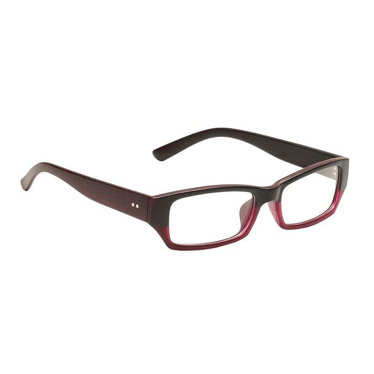 Buy Blue-tuff Mens Rectangular Sunglass Eyewear Eye Frame-3145-c2-maroonblack online