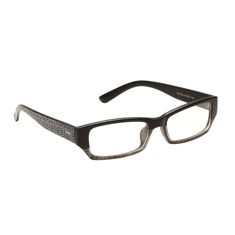 Buy Blue-tuff Rectangular Sunglass Eyewear Girls Frame-3145-c8-tptblack online