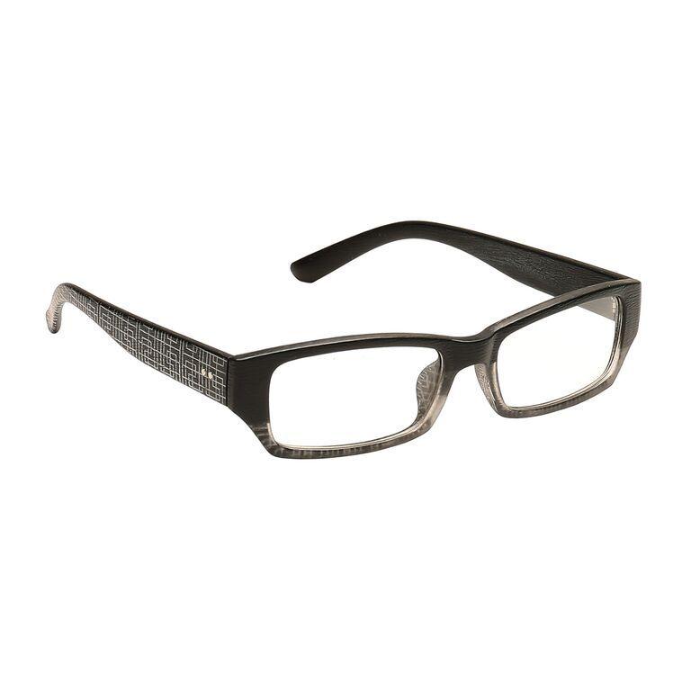 Buy Blue-tuff Mens Rectangular Sunglass Eyewear Eye Frame-3145-c8-tptblack online