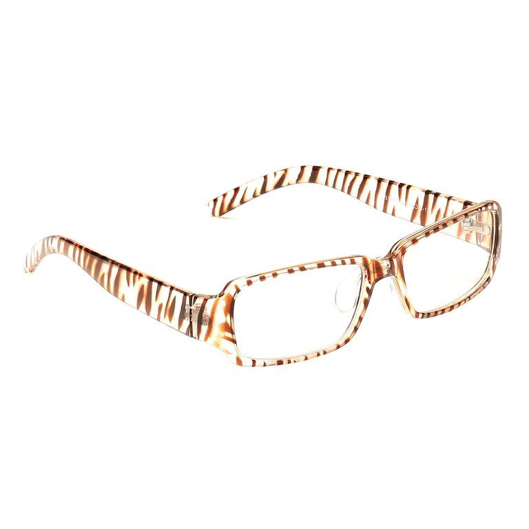 Buy Blue-tuff Rectangular Sunglass Eyewear Girls Frame-5120-c5-tptbrown online