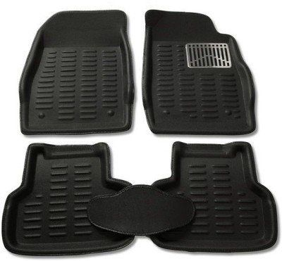 Buy Mp-black Colour-3d Car Floor Mats Perfect Fit For Skoda Fabia online