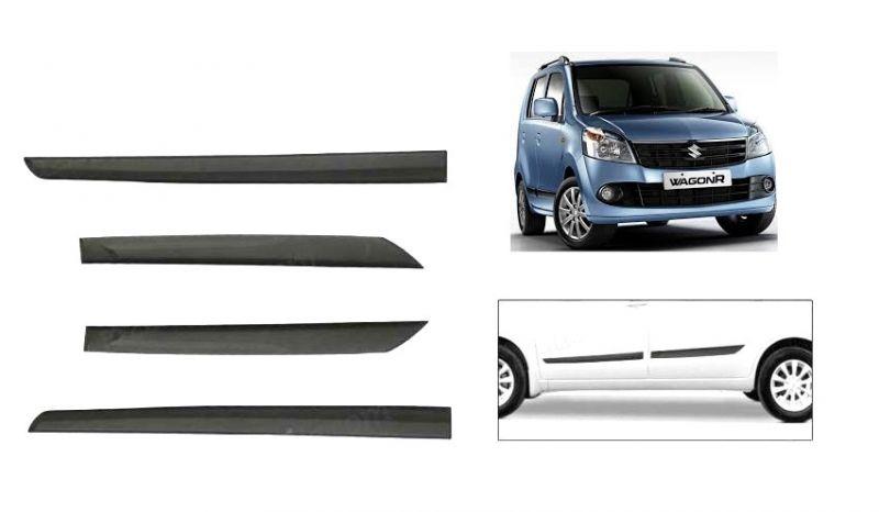 Buy MP Car Original Side Beading Matt Black - Maruti New Wagon R online