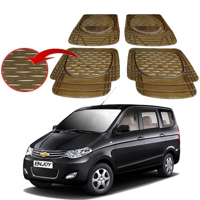 Buy MP Premium Smoke Car Floor/foot Mats Set Of 4 - Chevrolet Enjoy online
