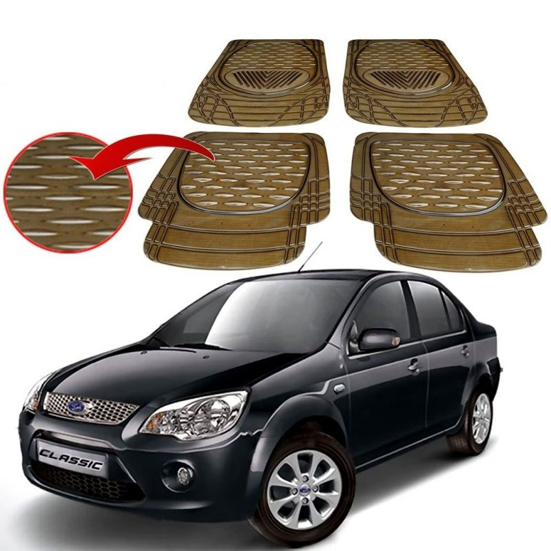 Buy MP Premium Smoke Car Floor/foot Mats Set Of 4 - Ford Feista online