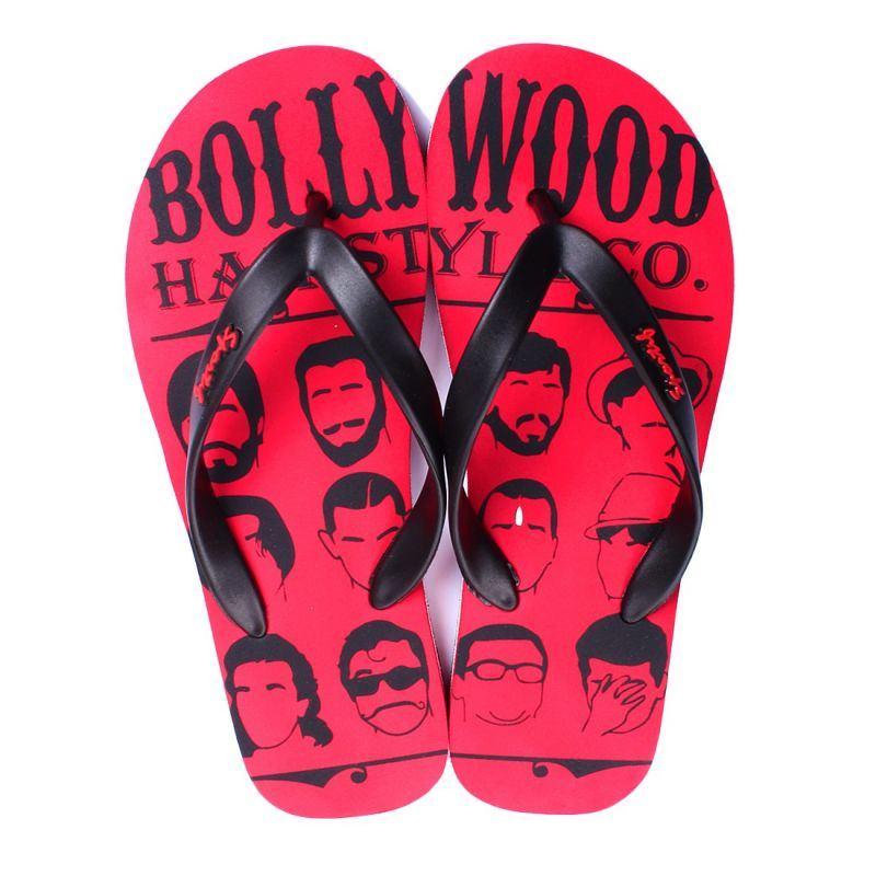 Buy Rexona Mens Flip Flop Slipper Art. Bollywood Red online
