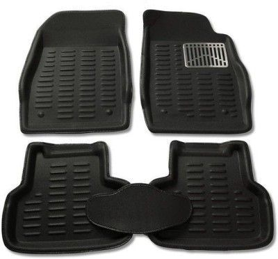 Buy MP - Black Colour-3d Car Floor Mat/folded Mats Perfect Fit Mahindra Xylo online