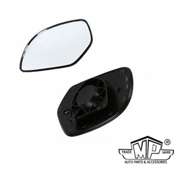 Buy MP Car Rear View Side Mirror Glass/plate Left - Volkswagen Rapid online