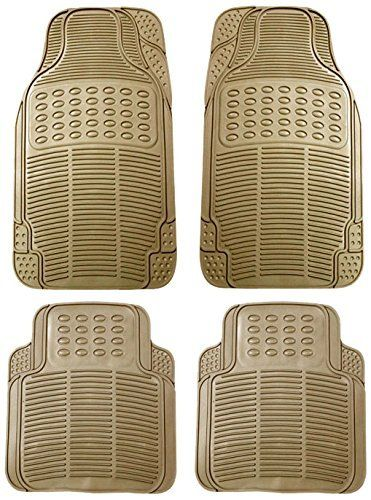 Buy MP Car Floor Mats (beige) Set Of 4 For Tata Indica V2 online