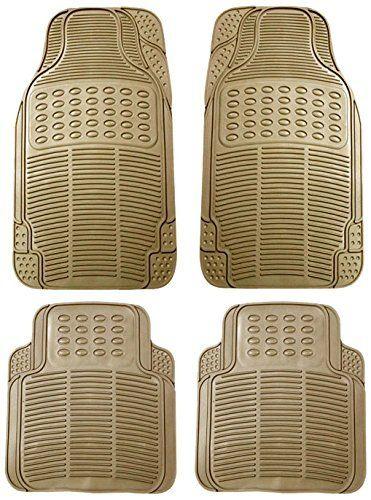 Buy MP Car Floor Mats (beige) Set Of 4 For Tata Safari online