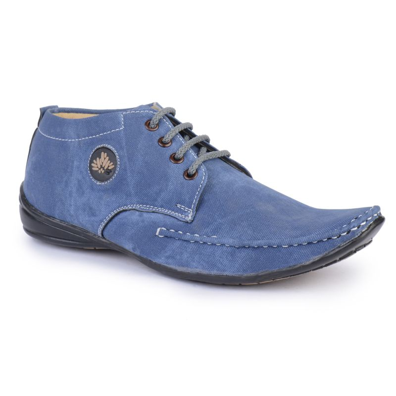 Buy Semana Smart Blue Casual Shoes online