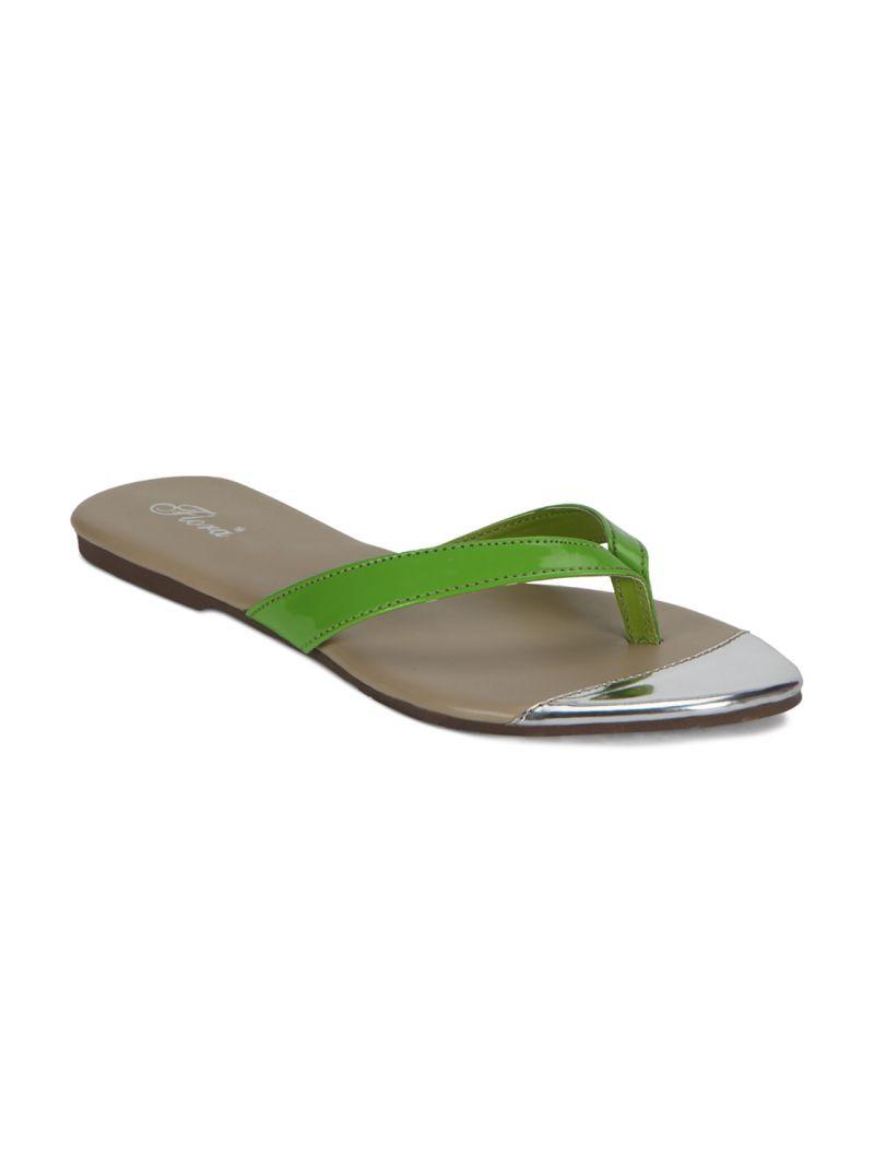 Buy Flora Green Flat Comfort Womens Slip-on - Fr-0202-12 online