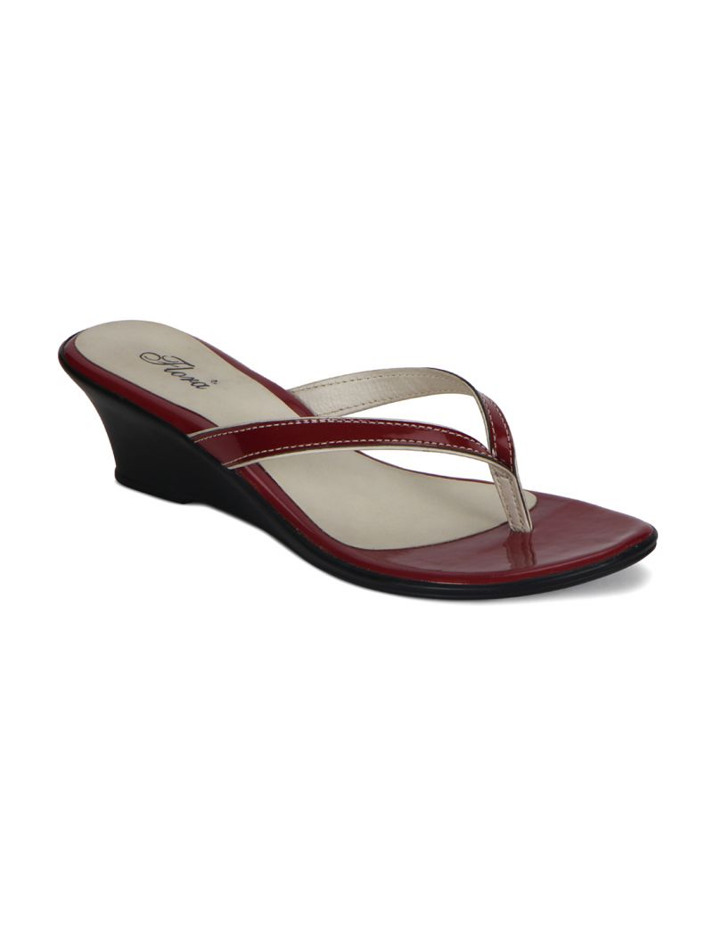 Buy Flora Red Comform Wedges & Womens Slip-on - Fr-3914-05 online