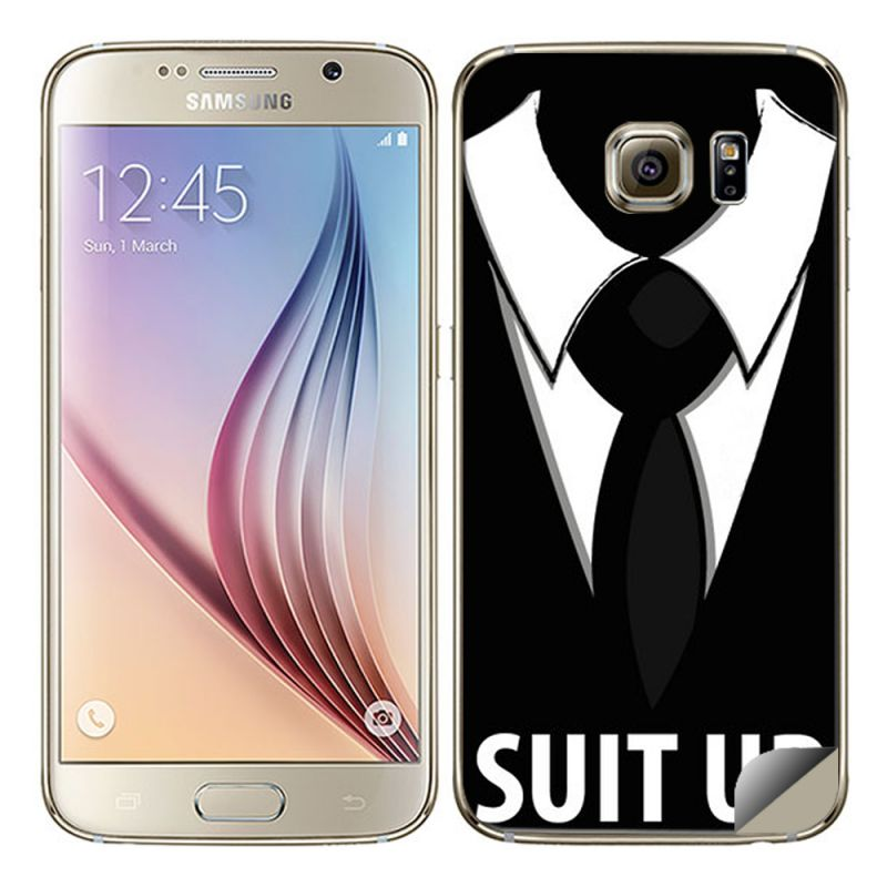 Buy ddf samsung galaxy s6 vinyl back skin sticker suit up product code fs1230