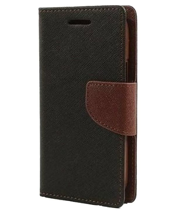 pick up 5212f 460d2 Nokia Lumia 730 Flip Cover By Ddf (brown)