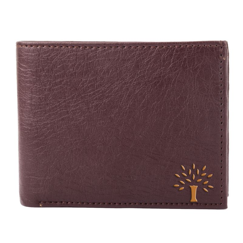 Buy White Bear Artificial Leather Brown Stylish Mens Wallet online