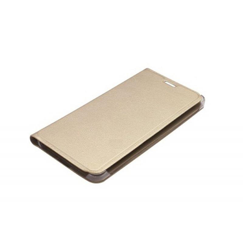 Vivo Y31l Flip Cover By Ddf (golden)