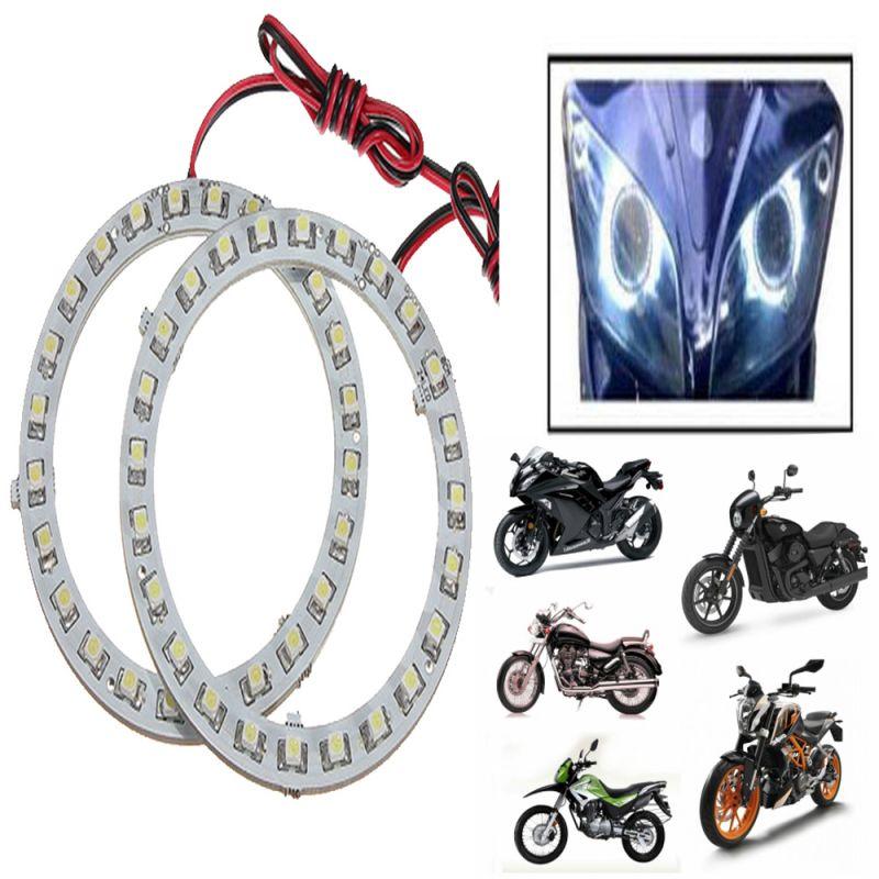 Buy Capeshoppers Angel Eyes LED Ring Light For Cars & Bikes