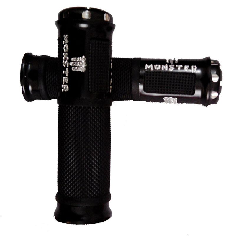 Buy Capeshoppers Monster Designer Black Bike Handle Grip For Honda Cbf Stunner Pgm Fi online