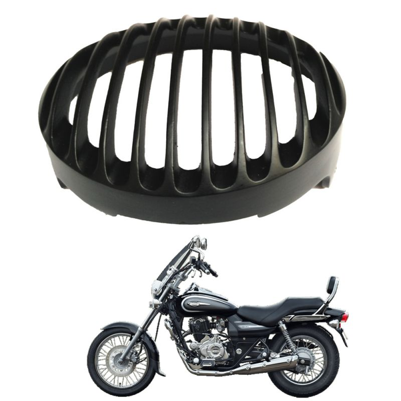 buy capeshoppers headlight grill cover for bajaj avenger cruise 220
