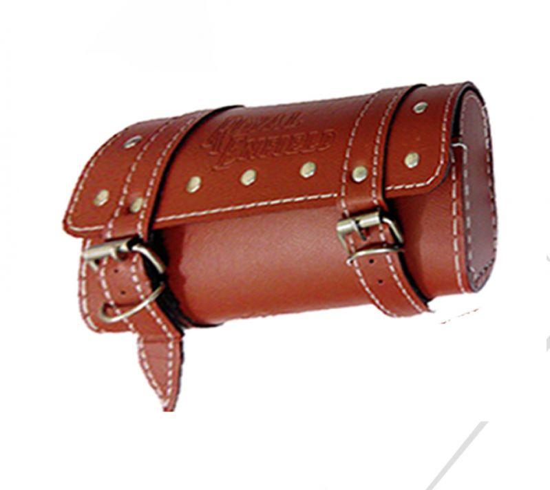 Buy Capeshoppers Royal Saddle Bag Suzuki Hayate - Dark Brown online