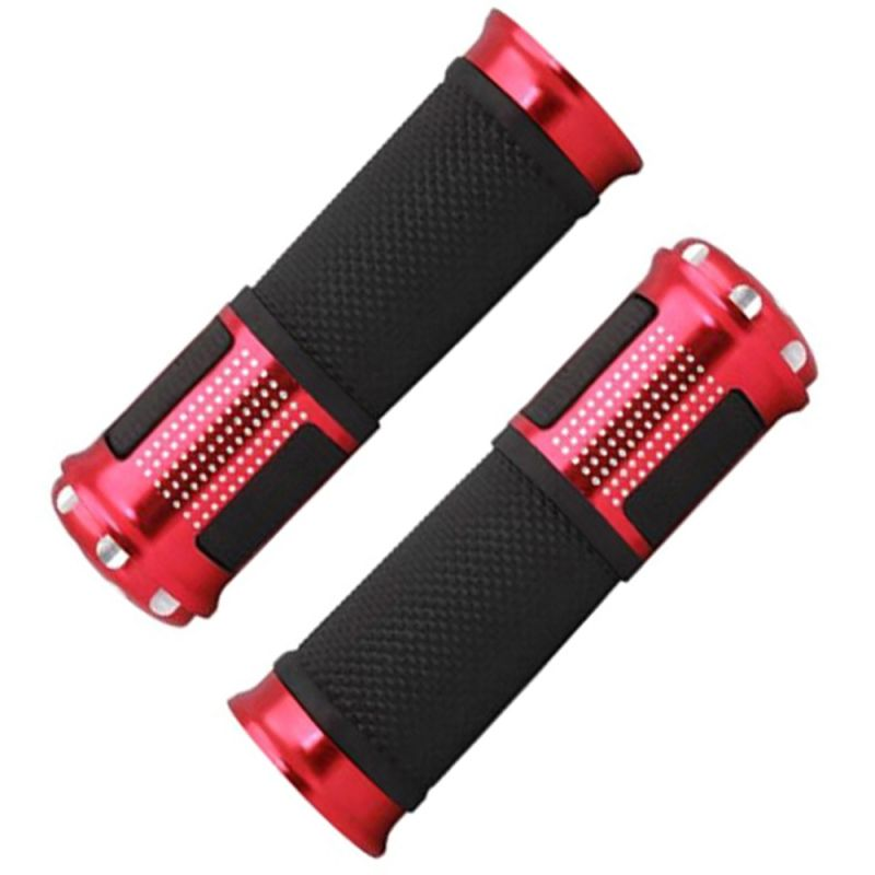 Buy Capeshoppers Bike Handle Grip Red For Tvs Super Xl Double Seater online