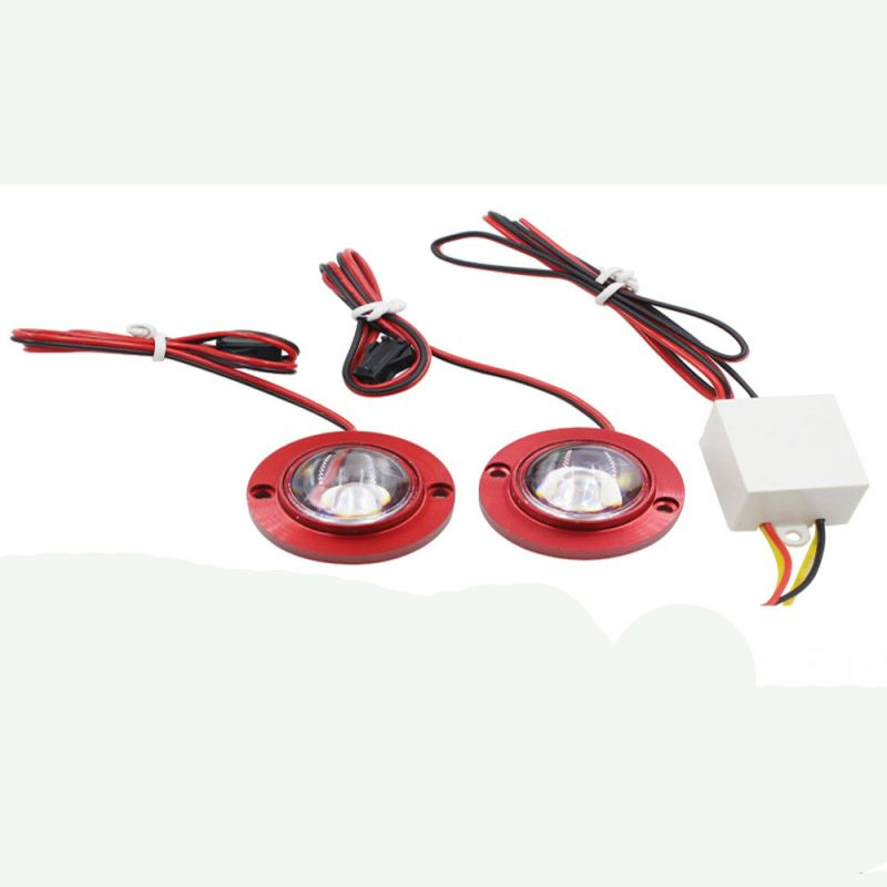 Buy Capeshoppers Strobe Light For Hero MotoCorp Xtreme Double Disc online