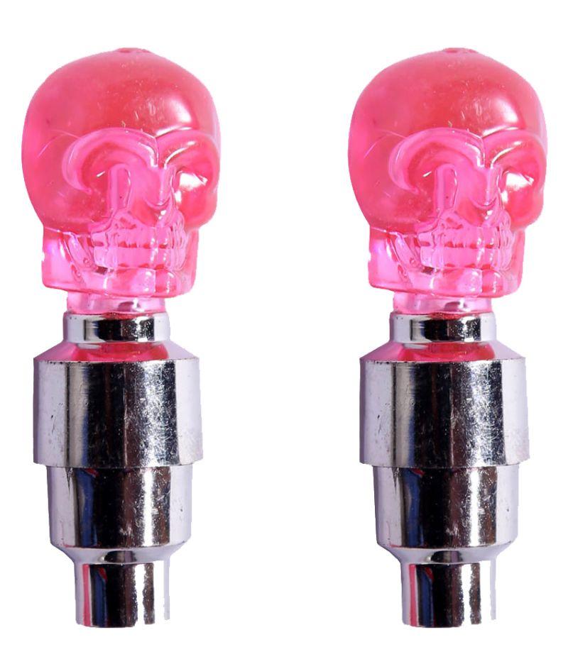 Buy Capeshoppers Skull Bike Tyre LED Motion Sensor Set Of 2 For Bajaj Pulsar 180cc Dtsi online