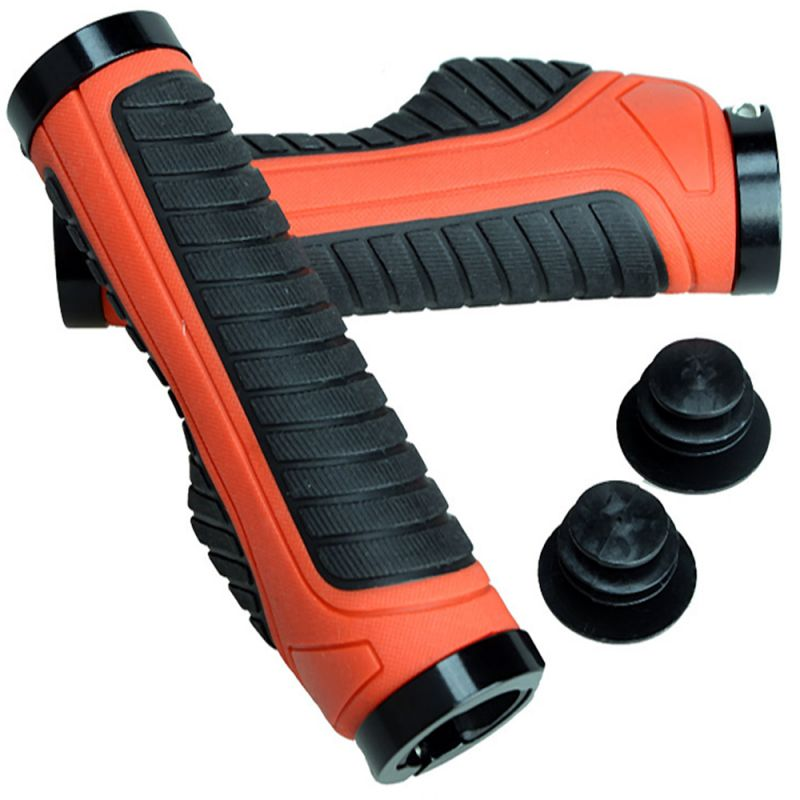 Buy Capeshoppers Moxi Red Handle Grip For Hero Motocorp Passion Pro Tr online