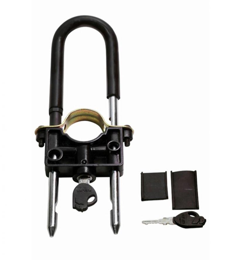 Buy Capeshoppers Universal Bike Front Wheel Lock For Mahindra Pantero online