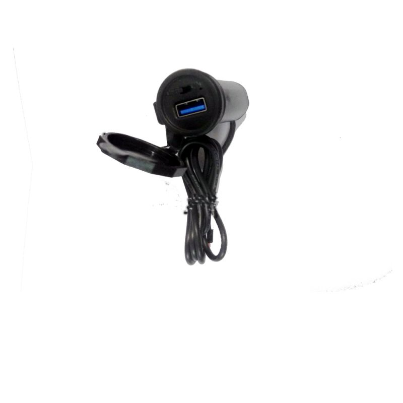 Buy Capeshoppers Motorcycle Unique USB Mobile Charger For Bajaj Ct-100 online